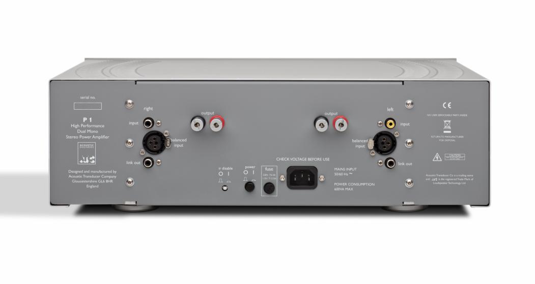 ATC P1 Amp back