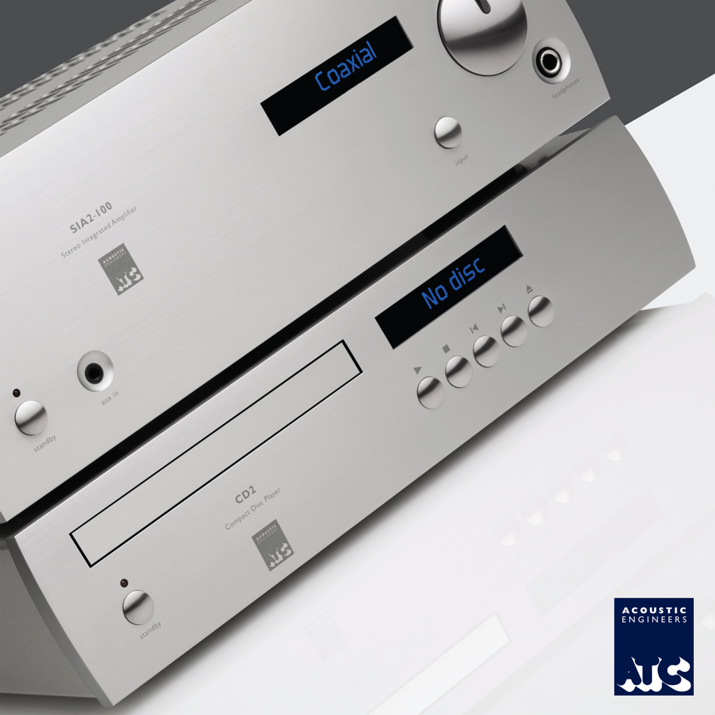 ATC LAUNCHES NEW MATCHING INTEGRATED AMP/DAC & CD PLAYER